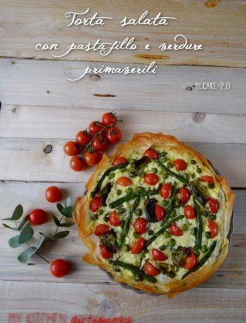 torta salata verdure e fillo