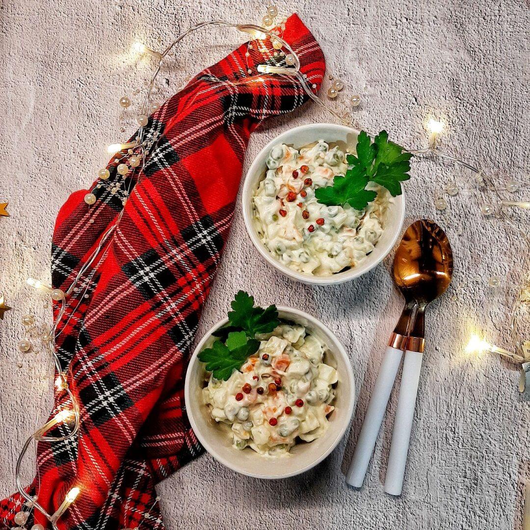 Decorazioni Natalizie Per Insalata Russa.I Come Insalata Russa My Kitchen Dictionary